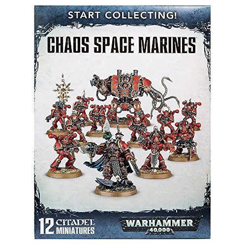 Start Collecting! Chaos Space Marines Warhammer (Chaos Marines)