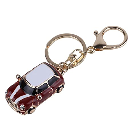 Llavero - SODIAL(R) Llavero de aleacion de forma de coche ...