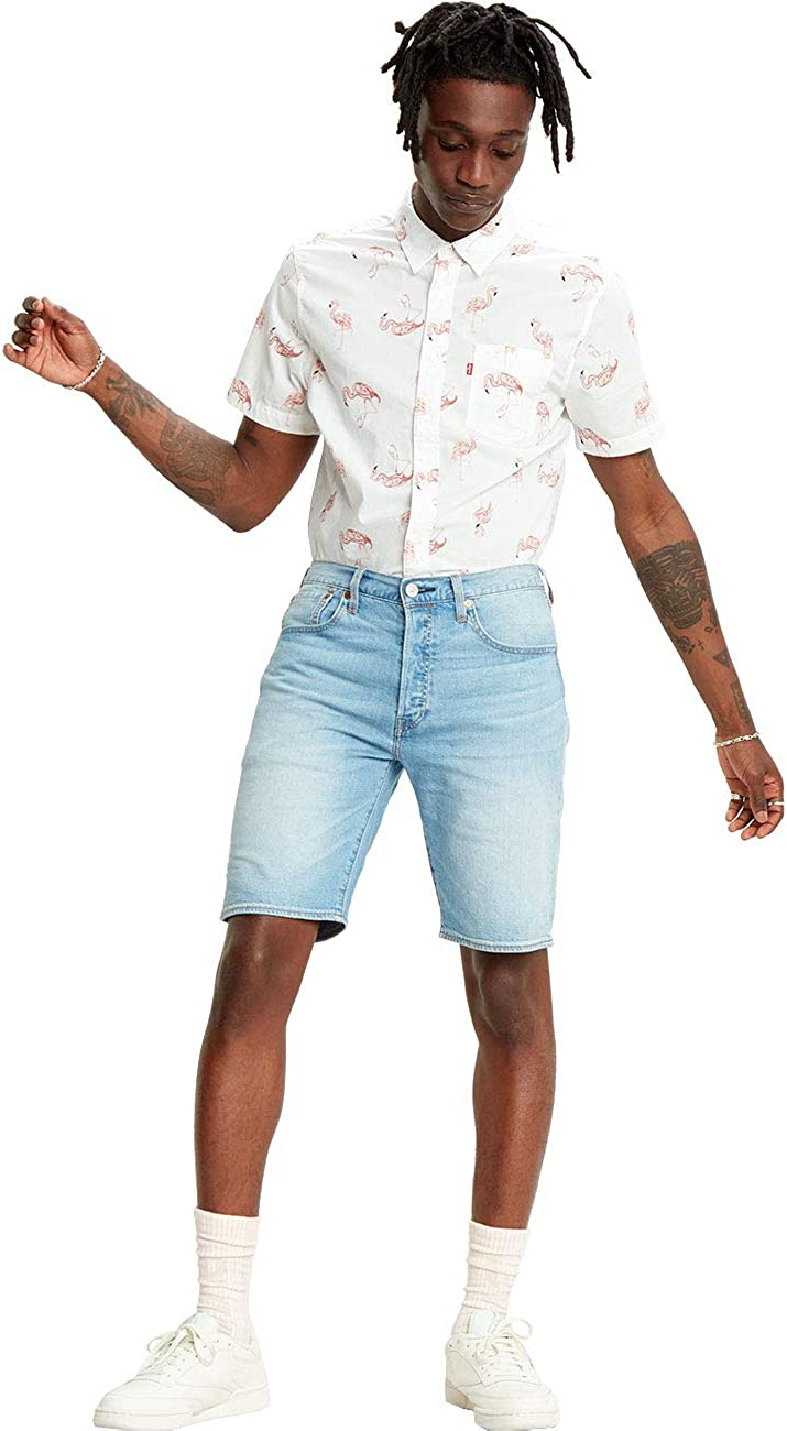 Levi's 501 Hemmed Short Denim Shorts para Hombre