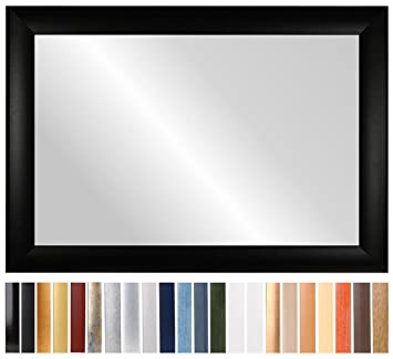 Unterschiedlich CAPRY 100 x 90 cm Spiegel nach Maß mit Rahmen, Rahmen Farbe: Weiss  OO61