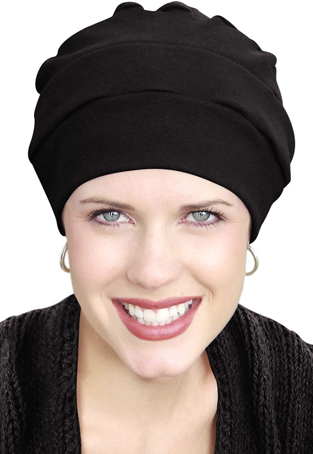 Headcovers Unlimited 100% Cotton Three Seam Turban | Chemo Turbans for Cancer Patients.