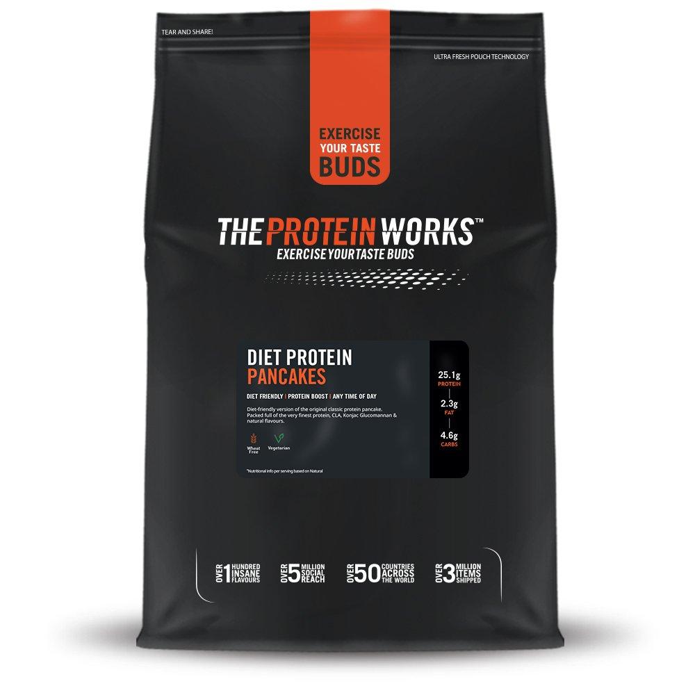 THE PROTEIN WORKS Tortitas proteicas dietéticas - Sin sabor - 1kg: Amazon.es: Salud y cuidado personal