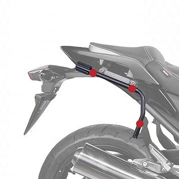 Shad K0ER62IF Soporte Maletas 3P System para Kawasaki Er6 N-F, Negro: Amazon.es: Coche y moto