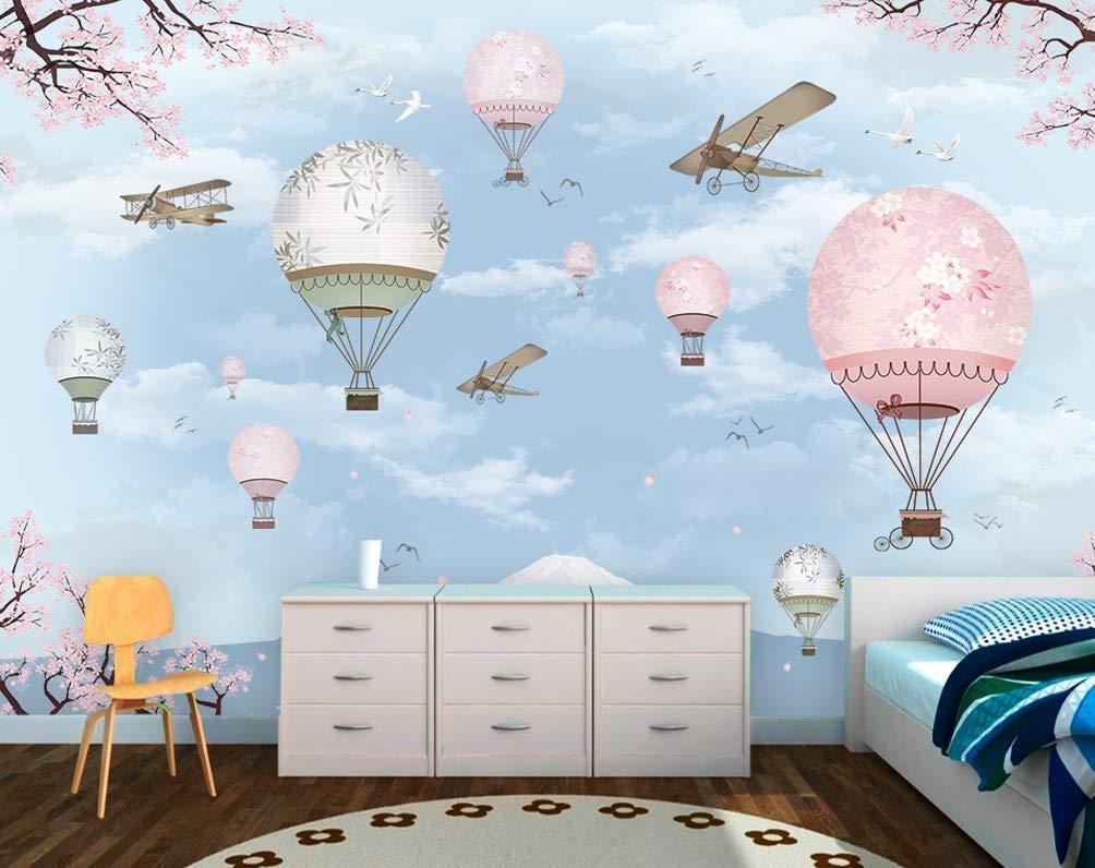 Amazon Com Murwall Kids Wallpaper Cherry Blossom Wall Mural Soft