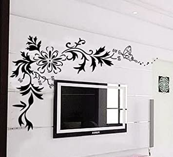 Decals Design U0027Floralu0027 Wall Sticker (PVC Vinyl, 70 Cm X 50 Cm Part 49