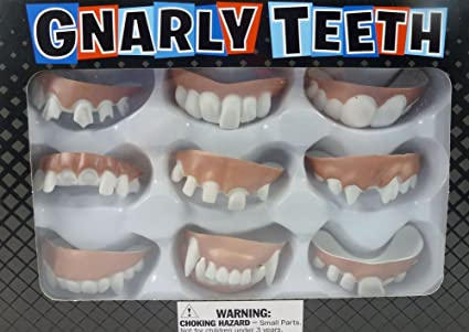 Gnarly Teeth 9 Dentures