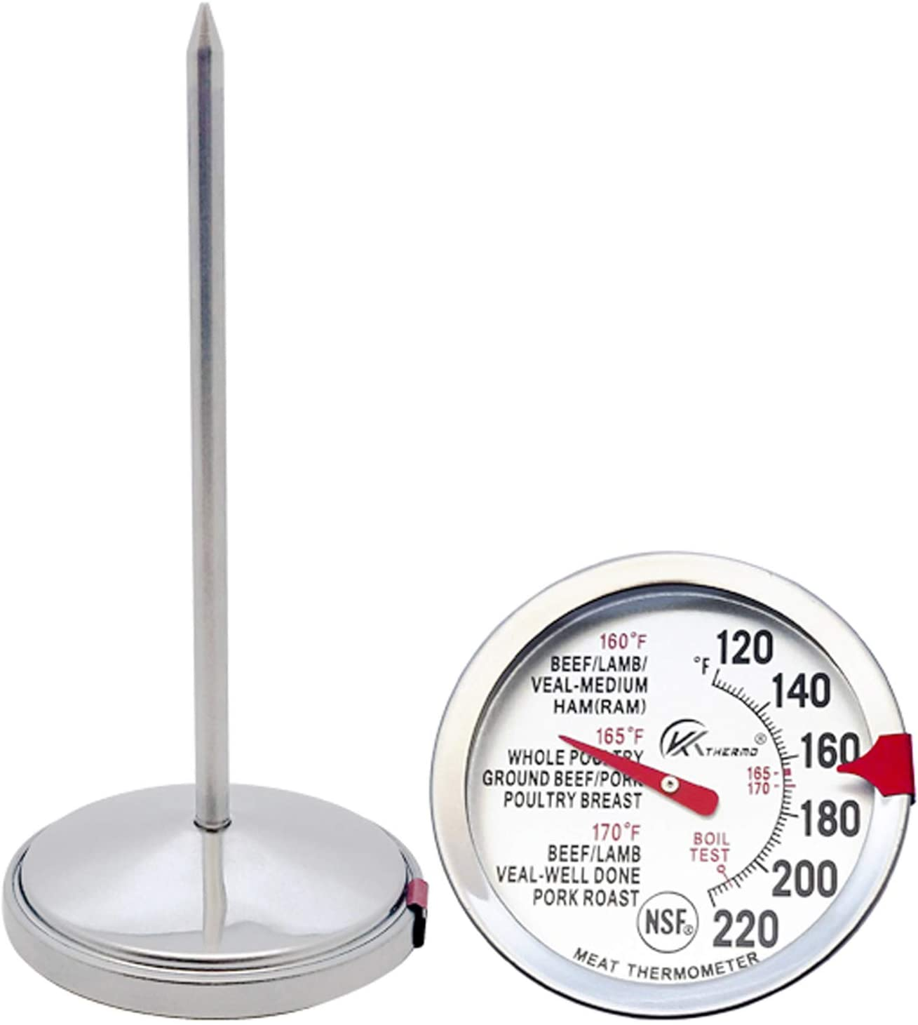 Instant Read Meat Thermometer, Digital Thermometer with 4.6