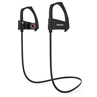 Auriculares Bluetooth, goscien deportes inalámbrica Bluetooth auriculares Running Auriculares de diadema con micrófono integrado para