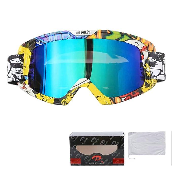 Beydodo Gafas de Nieve Gafas de Moto Polarizadas Estilo 1 Gafas de Sol Trabajo y Seguridad