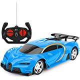 Remote Control Car, RC Cars Gifts for Kids Electric Sport Racing Hobby Toy Car Red/Blue Model Vehicle for Boys Girls…
