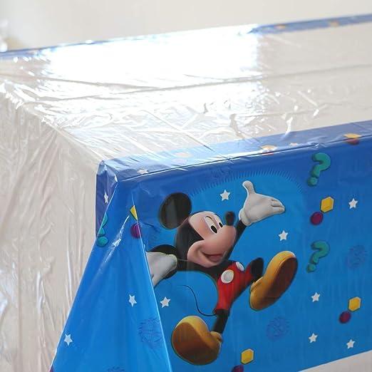 1 unid Fiesta de cumpleaños Feliz Mickey Mouse plástico ...
