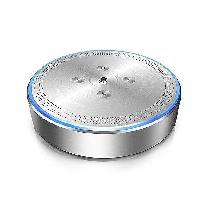Altavoz inalámbrico de Conferencia, teléfono de Conferencia OfficeCore M1 con Bluetooth Altavoz Conferencia 26 ft Far-Field para Sistema de conferencias y ...