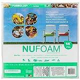 Fairfield Poly-Fil Nu-Foam Pre-Cut, 14 by 14 by 2-Inch