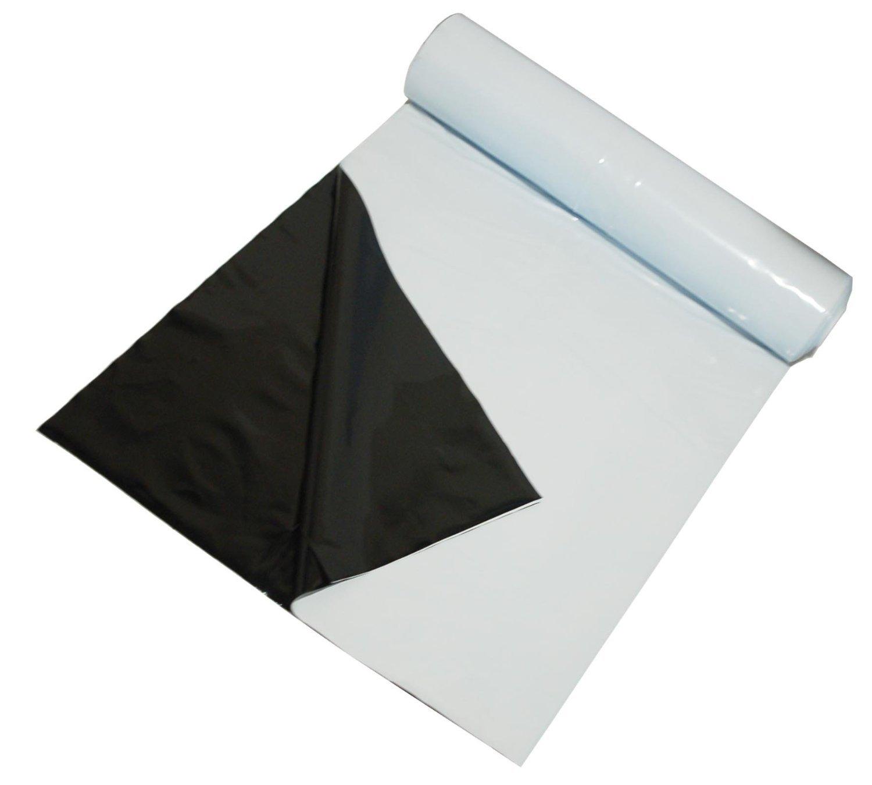 2019年最新海外 Black & White [並行輸入品] Poly Film 5.5 & Mil 10' White x 100' [並行輸入品] B0187PBGRA, マキゾノチョウ:5f9de400 --- mail.mrplusfm.net