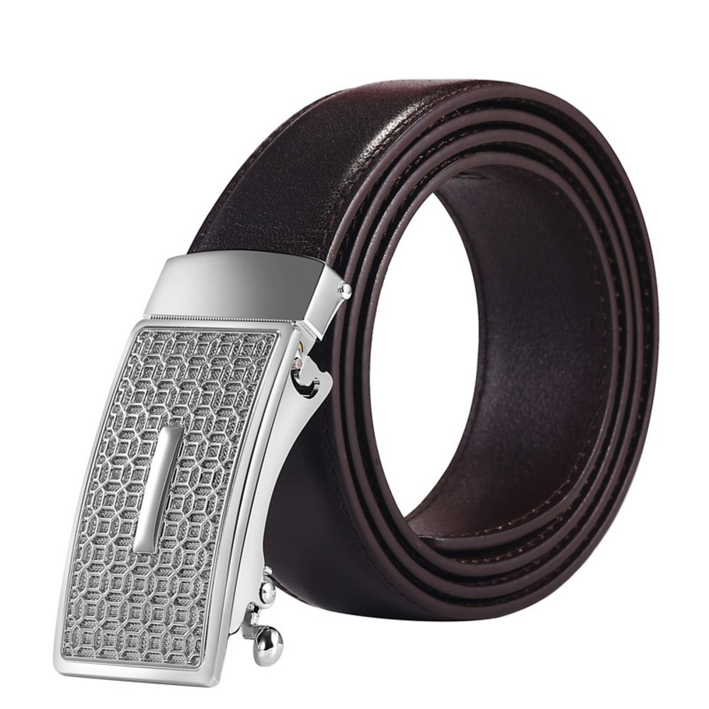 Automatic Buckle Belts Business Casual Simple Mens Belts
