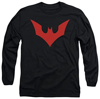 e730f0415 Long Sleeve: Batman Beyond - Beyond Bat Logo Longsleeve Shirt Size S