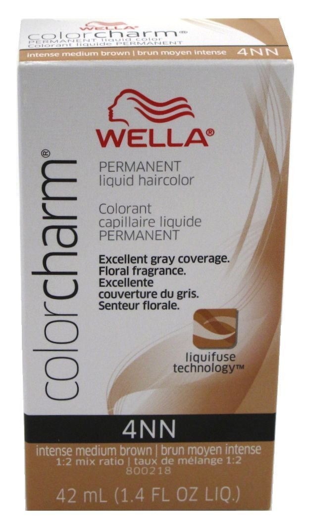 Amazon Wella Color Charm Liquid Hair Color 4nn Intense