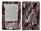 Robotic Plates Design Decal Protective Skin Sticker for Amazon Kindle 2