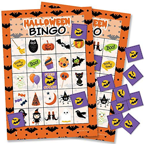 Halloween Bingo Game for Kids | 24 Players