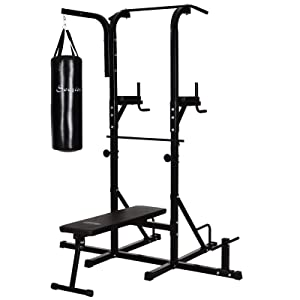 Soozier Home Gym Power Tower - Best Cheap Home Gym