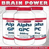 Alpha GPC, 300 mg, 90 Veggie Capsules - SHARP GPC™ - A Natural Source of Choline (3)