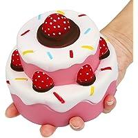 Hangaga 1pcs Rebond gâteau Simulation gâteau résine Artisanat décoration Ornements