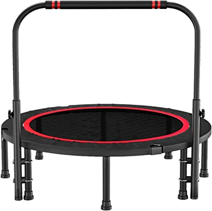 48IN Folding Fitness Trampoline Indoor Trampoline For Adults And Children
