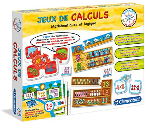 clementoni 62555 0 jeu educatif jeux de calculs 3 6 ans le magasin de jouets. Black Bedroom Furniture Sets. Home Design Ideas