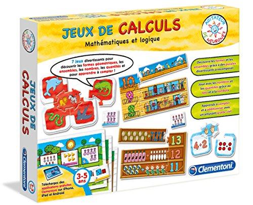 clementoni 62555 0 jeu educatif jeux de calculs 3 6 ans la caverne du jouet. Black Bedroom Furniture Sets. Home Design Ideas