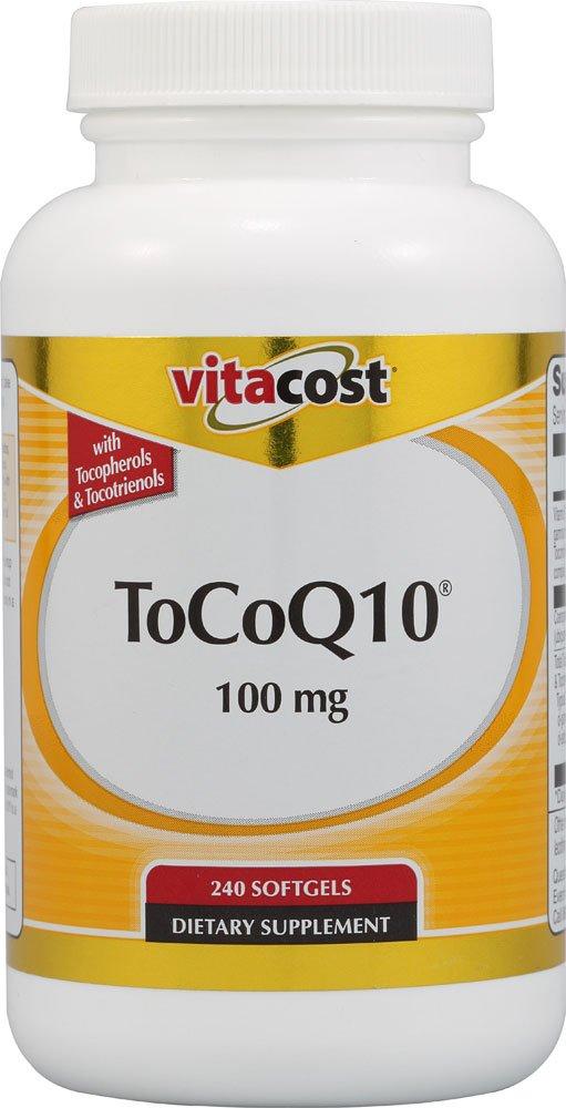 Vitacost ToCoQ10 — 100 mg – 240 Softgels