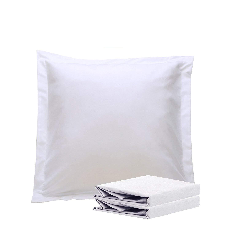 Amazon Com Sc Collection European Square Pillow Shams Set Of 2