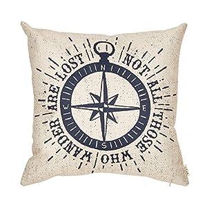 61HqrsvPSxL._SS300_ 100+ Nautical Pillows & Nautical Pillow Covers