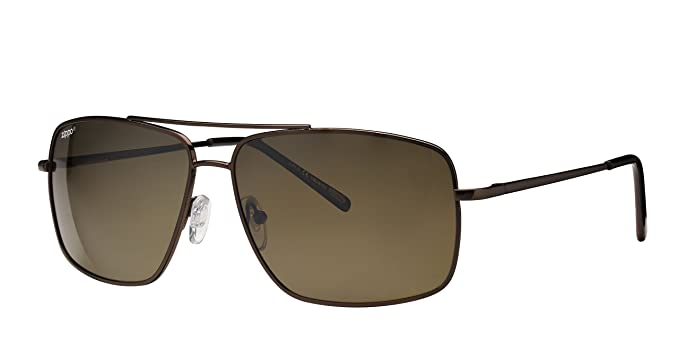 Zippo Polarized Brown Flash Mirror Lens Gafas de Sol, Unisex, Demi, Medium: Amazon.es: Deportes y aire libre