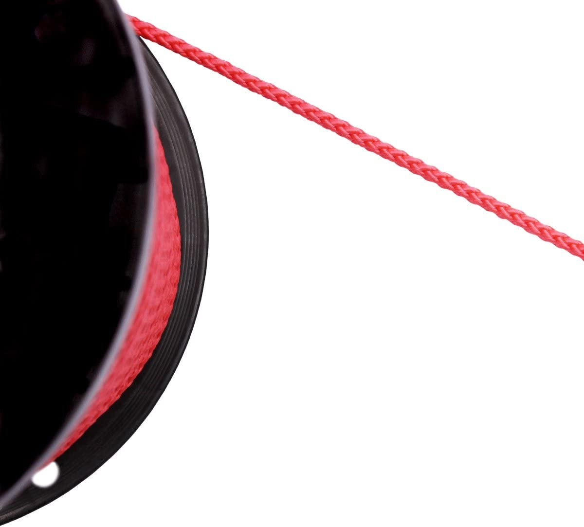 Kordel Schnur Zier Band Seil Leine rund geflochten 6 mm Meterware Hoodie PP Farbe blau