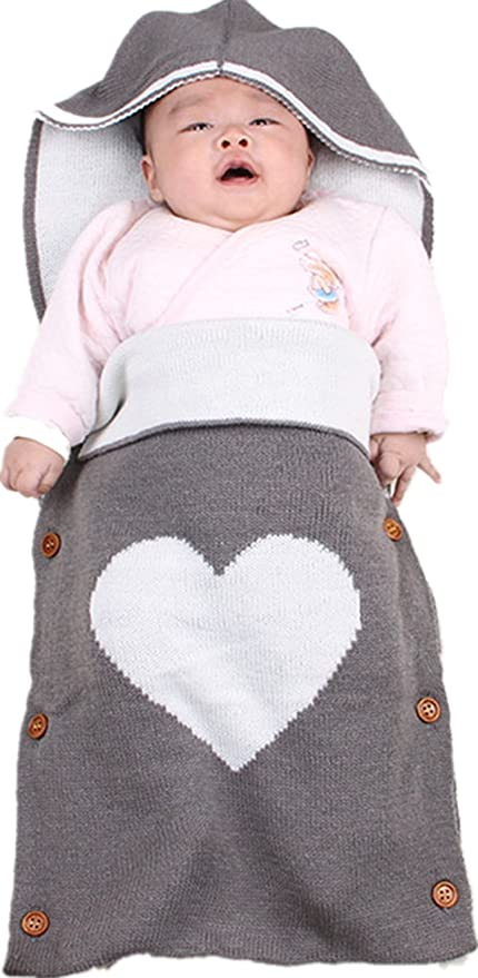 Hi8 Store - Saco de dormir para bebé infantil hecho a mano de punto ...