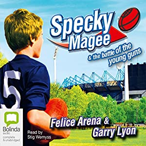 Specky Magee and the Battle of the Young Guns Audiobook
