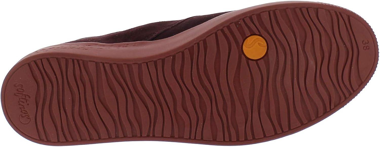 Softinos Desert Boots SIAL607SOF Bottines à lacets pour femme Bordeaux