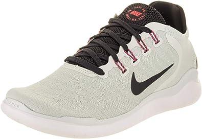 Nike Wmns Free RN 2018, Zapatillas de Running para Mujer, Multicolor (Barely Grey/Oil Grey/White/Geode Teal 007), 38.5 EU: Amazon.es: Zapatos y complementos