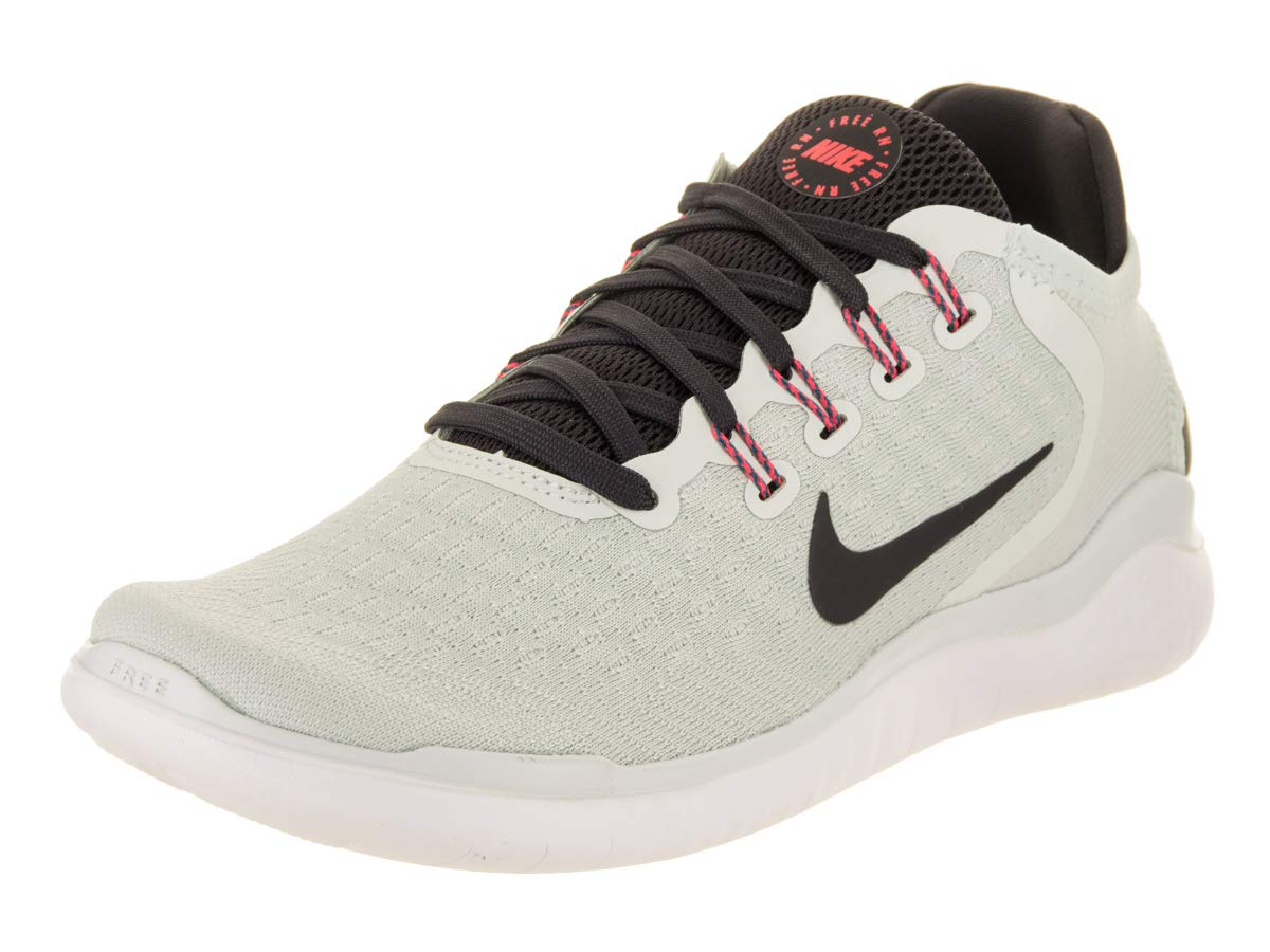 b7196eb827c Amazon.com  Nike Women s Free RN 2018 Running Shoe Barely Grey Oil  Grey White Geode Teal Size 8 M US  Sports   Outdoors