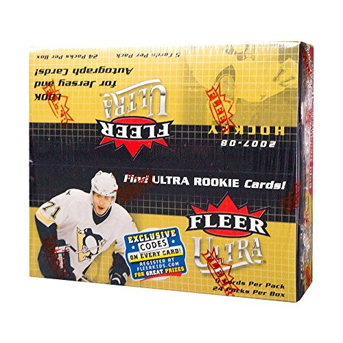 2007-08 Fleer Ultra Hockey 24ct Retail Box 08 Fleer Ultra Trading Card