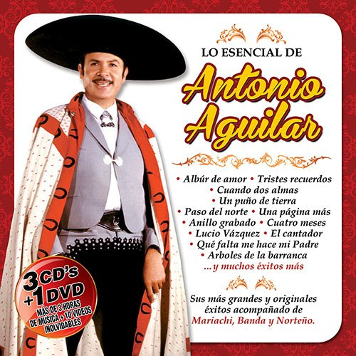 Antonio Aguilar Lo Esencial 3CD+1DVD