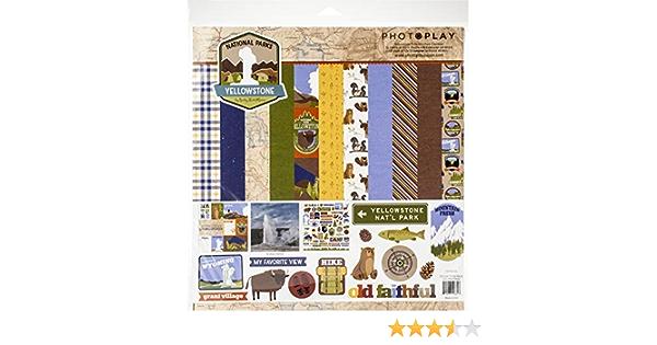 Multi Photoplay Paper AL8942N Paper Crafts