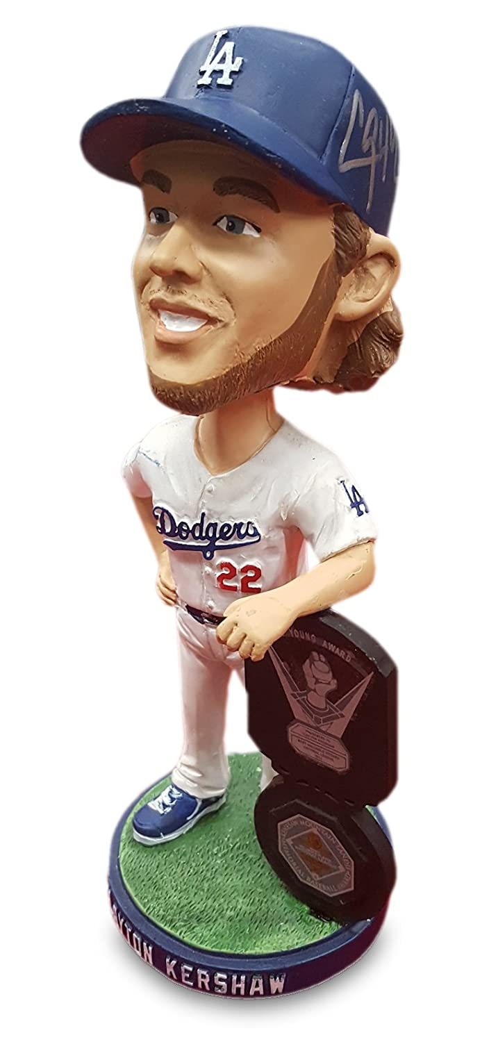 Clayton Kershaw Hand Signed Autographed SGA Bobble Head 2015 With MLB Holo