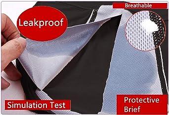 Rusy Menstrual Period Underwear, Leak Proof Panties for Women/Girl Postpartum Bleeding (Pack of 3)