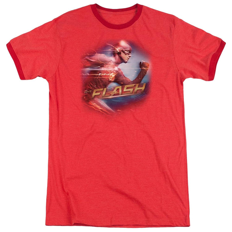 The Flash Men's Fastest Man Ringer T-Shirt