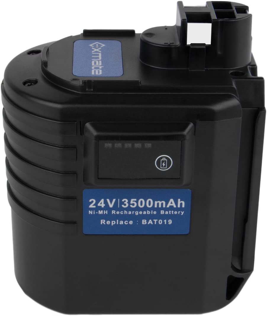 Exmate 24V 3.5Ah para Bosch Batería GBH24VRE GBH24VFR GBH24VSR BBH24VRE BAT019 BAT020 BAT021 11225VSR 2607335082 2607335216 2607335190 2607335163