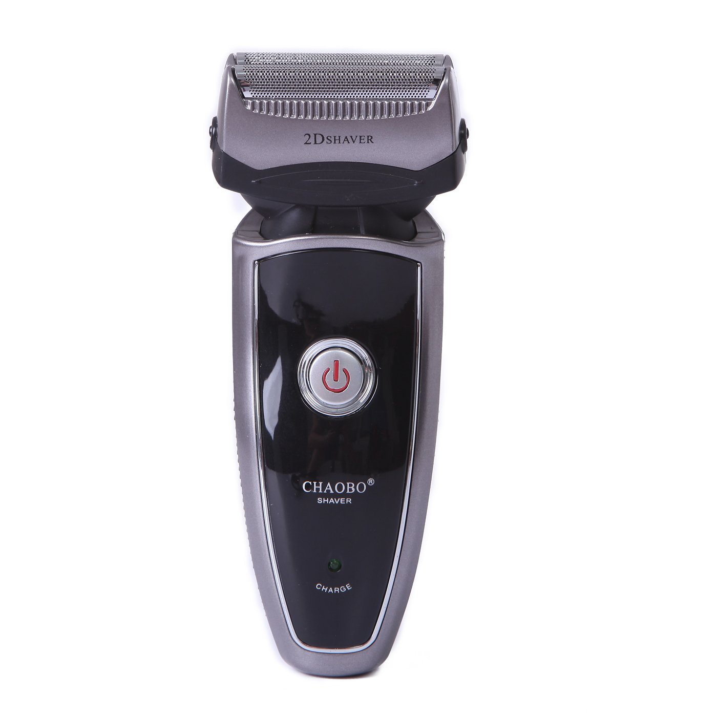 HDE Men's Rechargeable Cordless Travel Shaver Razor Electric Precision Trimmer Groomer- Black