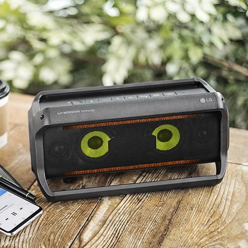 LG PK5 XBOOM Go Wireless Bluetooth Speaker with Up to 18 Hours Playback and Grab & Go Handles by LG (Image #8)