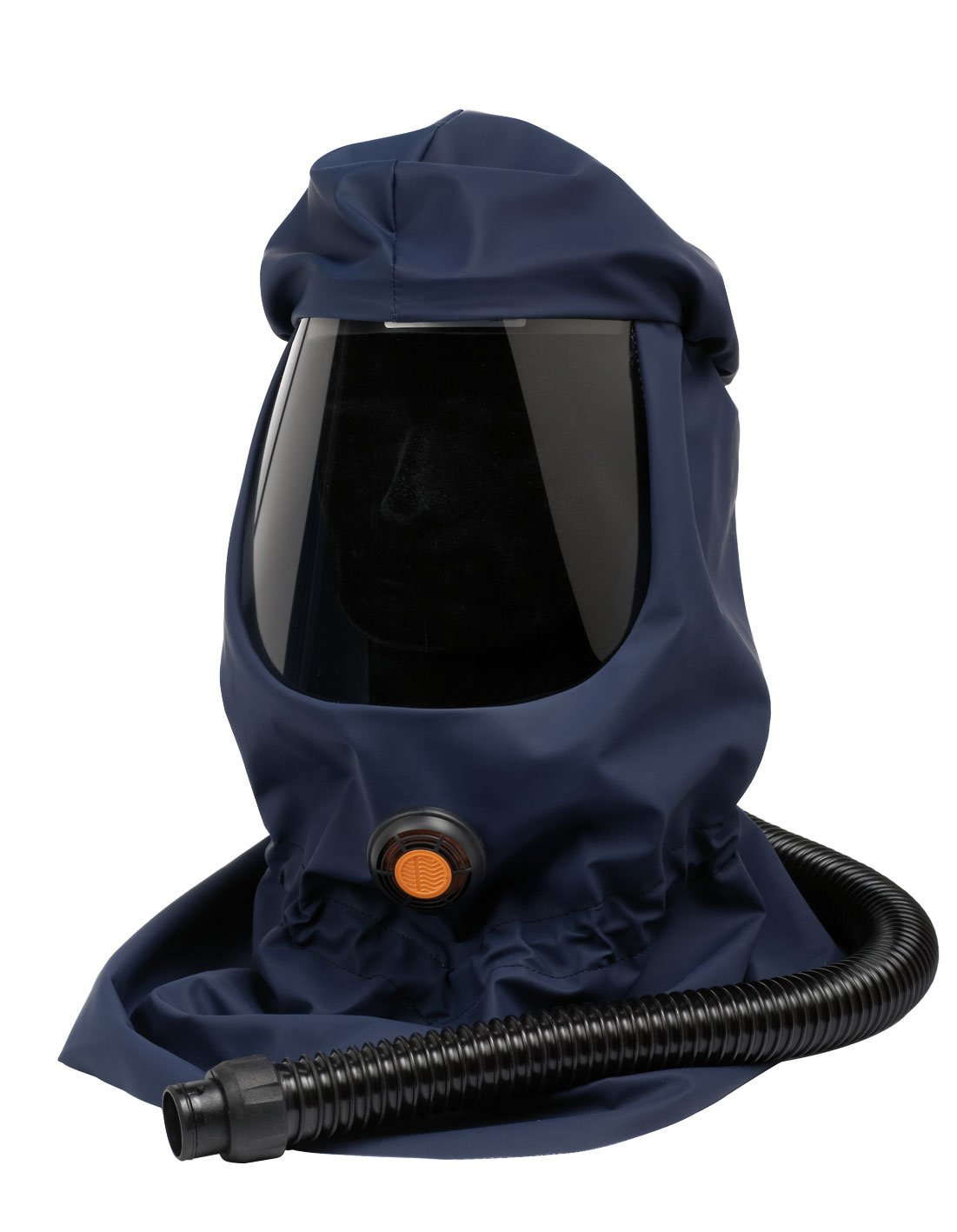 Sundström SR 530 Loose-Fitting Hood Long, One Size, Blue