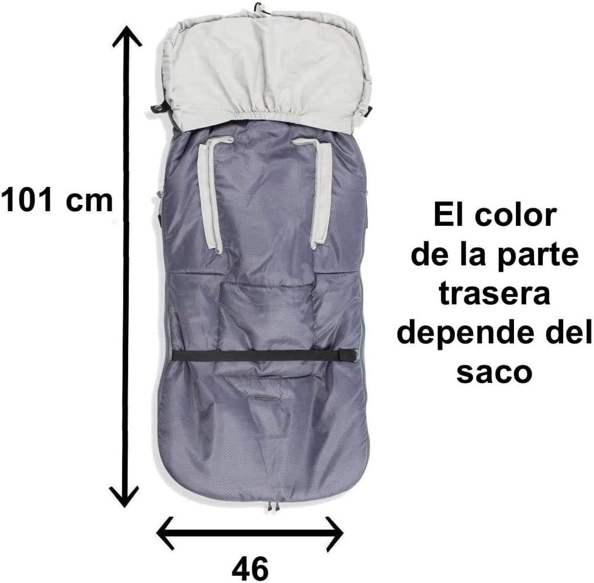 Saco Silla Paseo Transpirable Polar OFERTA Danielstore 1-Rosa animalitos Varios modelos